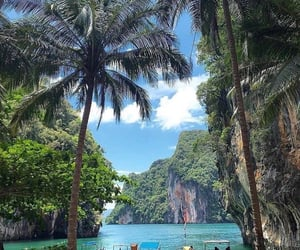 thailand, travel, and nature image