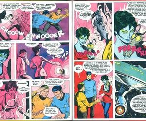 comic and star trek image