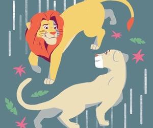 disney, lion king, and simba image