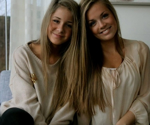 friends, girl, and blonde image