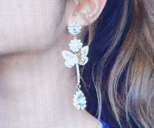 closeup, details, and earring image