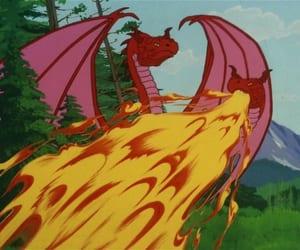 animation, star trek, and dragon image