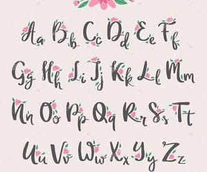 lettering, pink, and study image