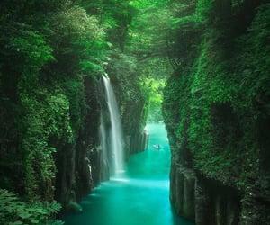 agua, azul, and paisaje image