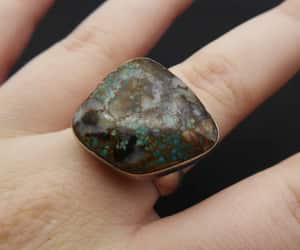 abstract, jasper, and turquoise image