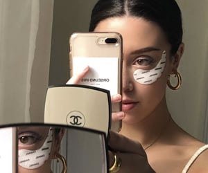 girl, chanel, and selfie image