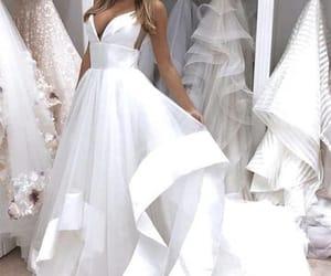 simple wedding dress, wedding dresses for bride, and vestido de novia image