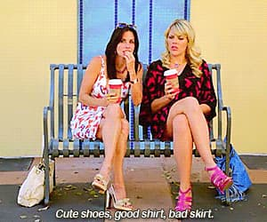 busy philipps, Courteney Cox, and gif image