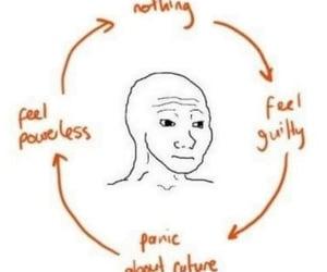 life, panic, and funny image