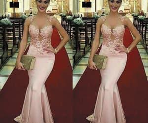 formal dresses, robe de soirée, and mermaid evening dress image