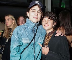 timothee chalamet and noah jupe image