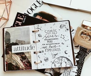 attitude and bullet journal image