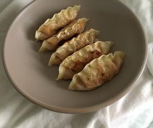 dumpling, food, and korean image