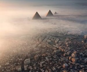 cairo, egypt, and pyramid image
