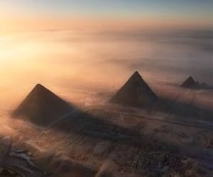 adventure, egypt, and mist image
