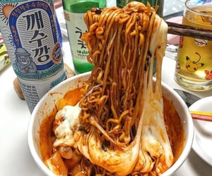 cool, food, and noodles image