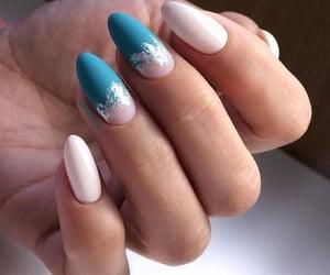 glamorous nail art image