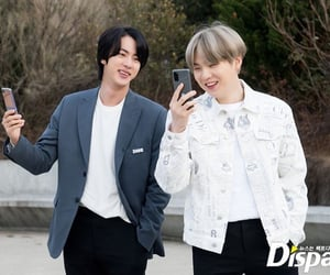 jin, smile, and bts image