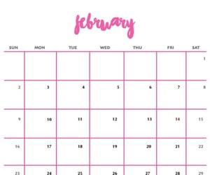 bullet, calendar, and february image
