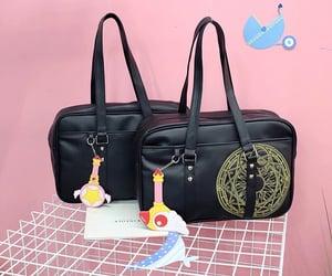 bag, wand, and black image