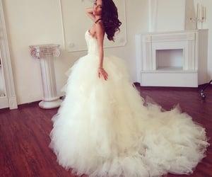 elegant, black, and bridal image