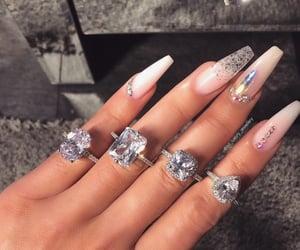 nails and girl image