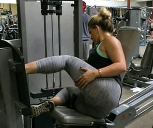 booty, gym, and glutes image