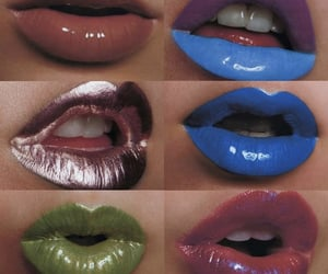blue, cosmetics, and green image