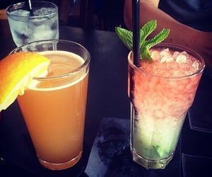 cocktail, yummy, and drink image