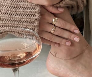 accessories, aesthetic, and champagne image