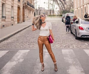 blonde, street, and sunglasses image