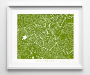 etsy, decor idea, and map poster image