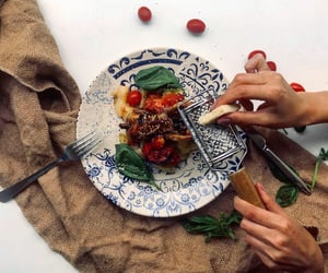cook, cooking, and delicious image