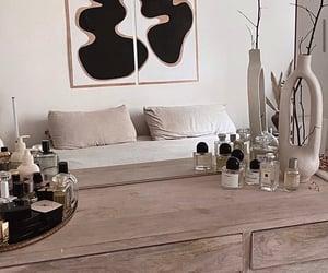 art, bedroom, and cosmetics image