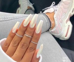 long nails, metal, and nails image
