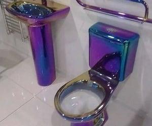 aesthetic, bathroom, and baño image