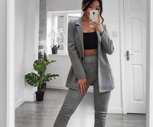 blazer, casual, and dress pants image