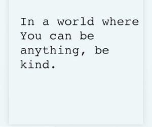 human, world, and bekind image