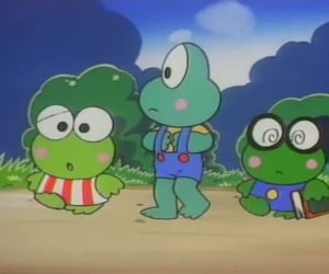 keroppi, keroppi the big adventure, and sanrio image