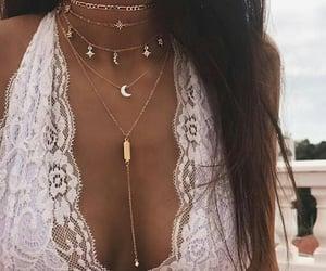 collar, elegante, and fashion image