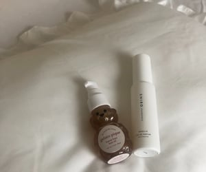 cosmetic, honey, and white image