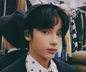 beautiful, face, and korean boy image