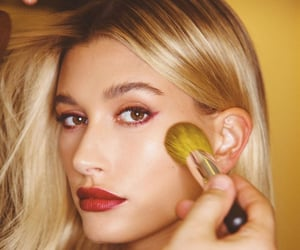 beautiful, eyelashes, and hailey baldwin image