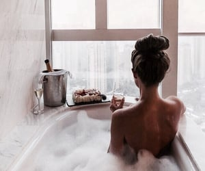 bath, chill, and world image