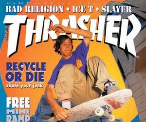 magazine, skate, and skating image