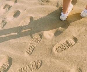 aesthetic, Prada, and beach image