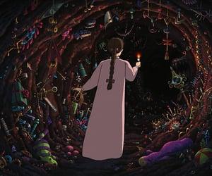 howl's moving castle, anime, and Hayao Miyazaki image