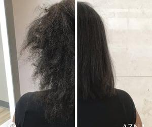 hair salon, hair styles, and thick hair image