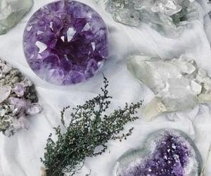 crystal, purple, and quartz image