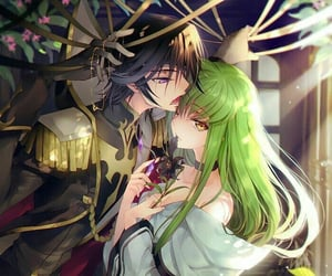 anime, lelouch, and code geass image